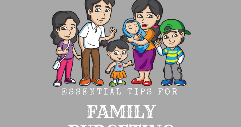 Tips of family budgeting