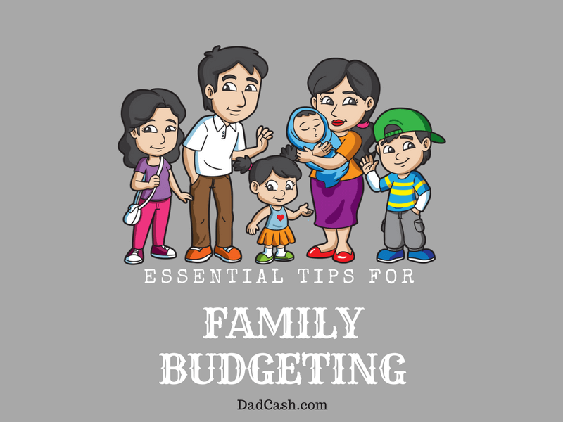 Tips on family budgeting