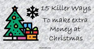 make extra money at christmas