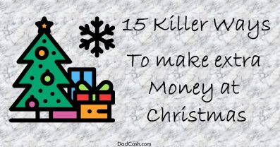 make extra money at christmas