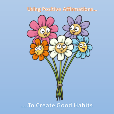 Using positive affirmations