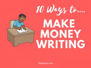 ways to make money writing