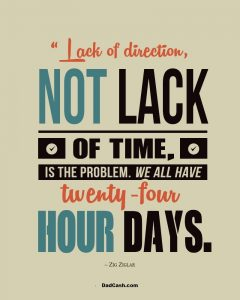 Time Management Quote Zig Ziglar