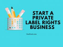 start a plr business